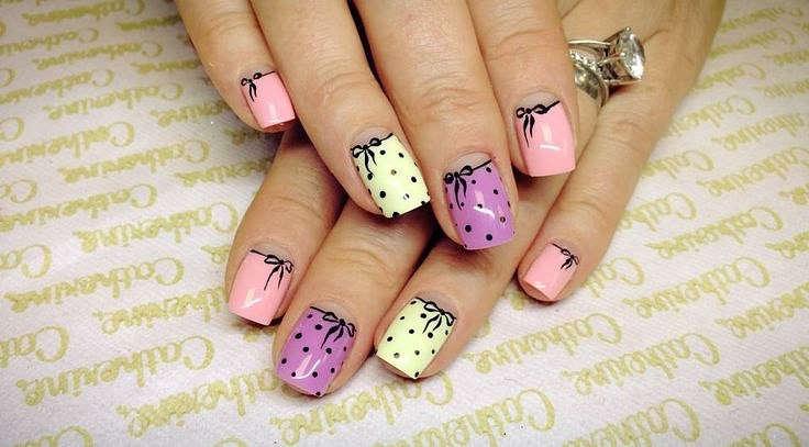 Интересные дизайны ногтей гель-лаком