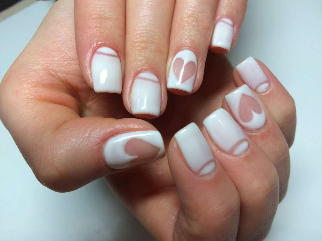 Дизайн ногтей шеллак прозрачный