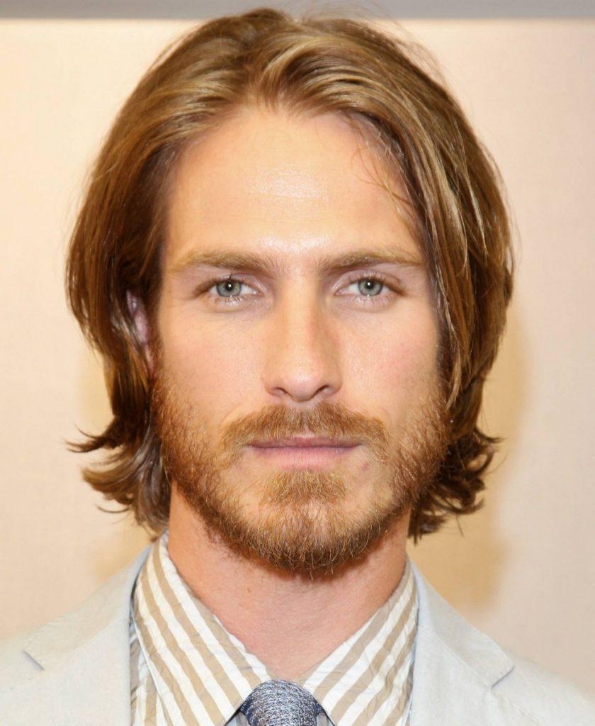 Борода и усы светлые волосы