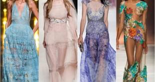 Вечерние платья в пол 2016: фото новинки