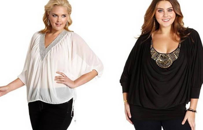 Модные Блузки Для Полных