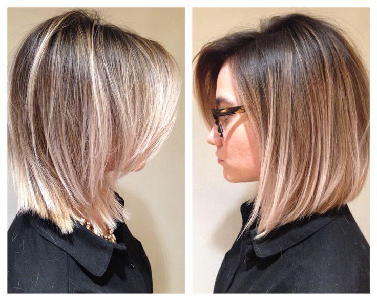 Окрашивание волос на средние волосы 2017 фото