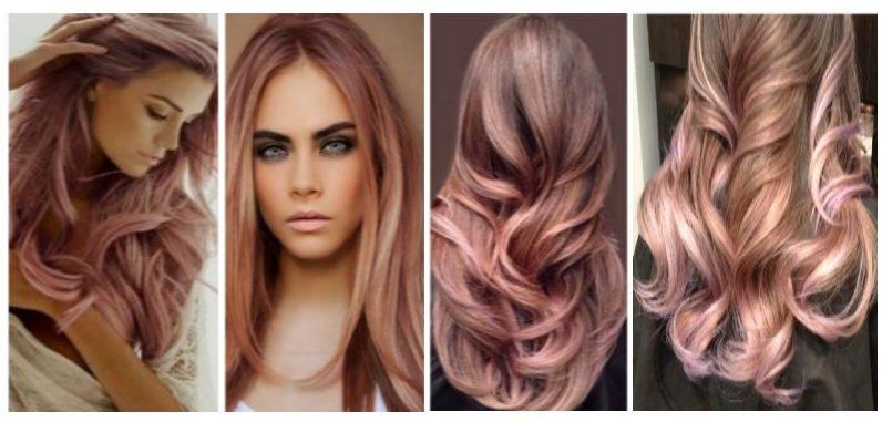 модная женская покраска волос 2016-2017