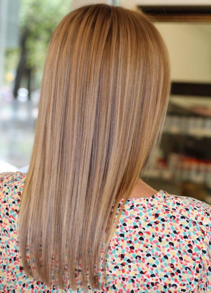 Модная покраска волос 2016 на средние волосы фото