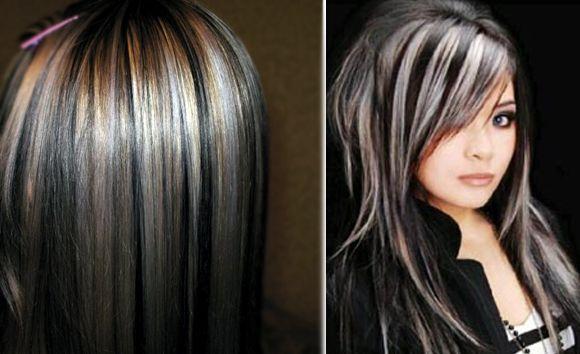 Фото. мелированных волос