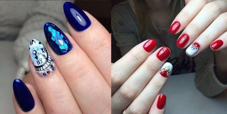 Дизайн ногтей гель лаком осень-зима 2016-2017