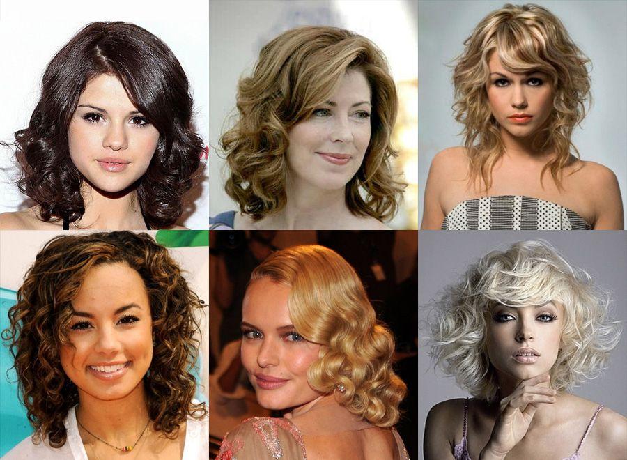 Стрижки на пышные средние волосы 2017 женские фото