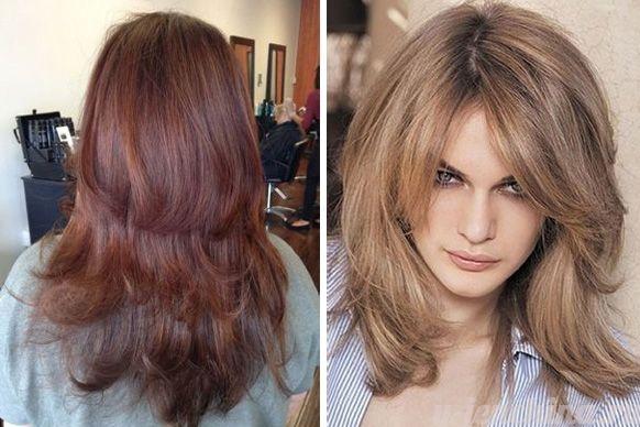Стрижка итальянка на средние волосы с челкой фото 2016