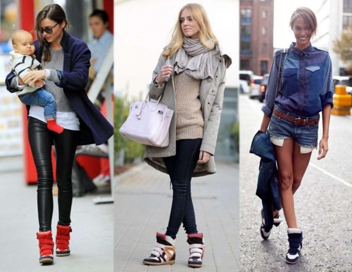 Модные кроссовки 2017 женские