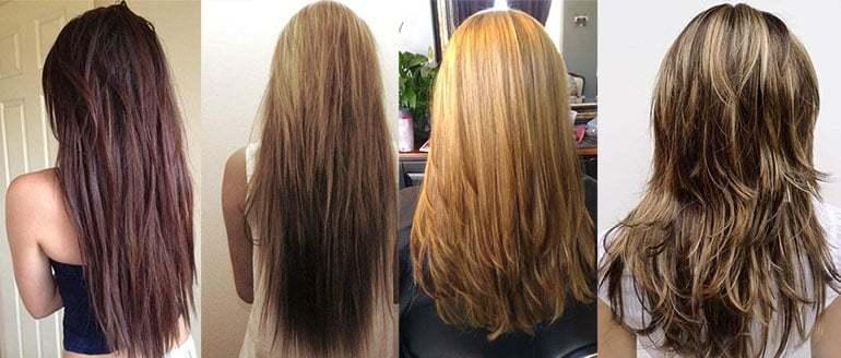 Каскад на длинные волосы 2017 женские фото