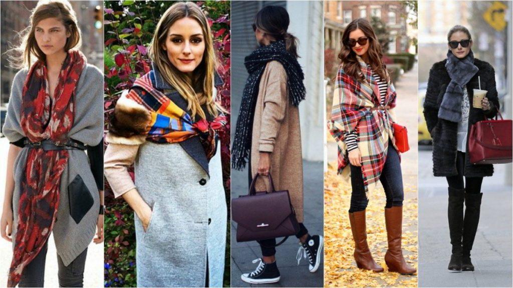 Модные шарфики этой осенью