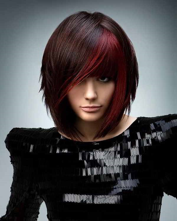 Какие стрижки модные в 2017 году фото на средние волосы
