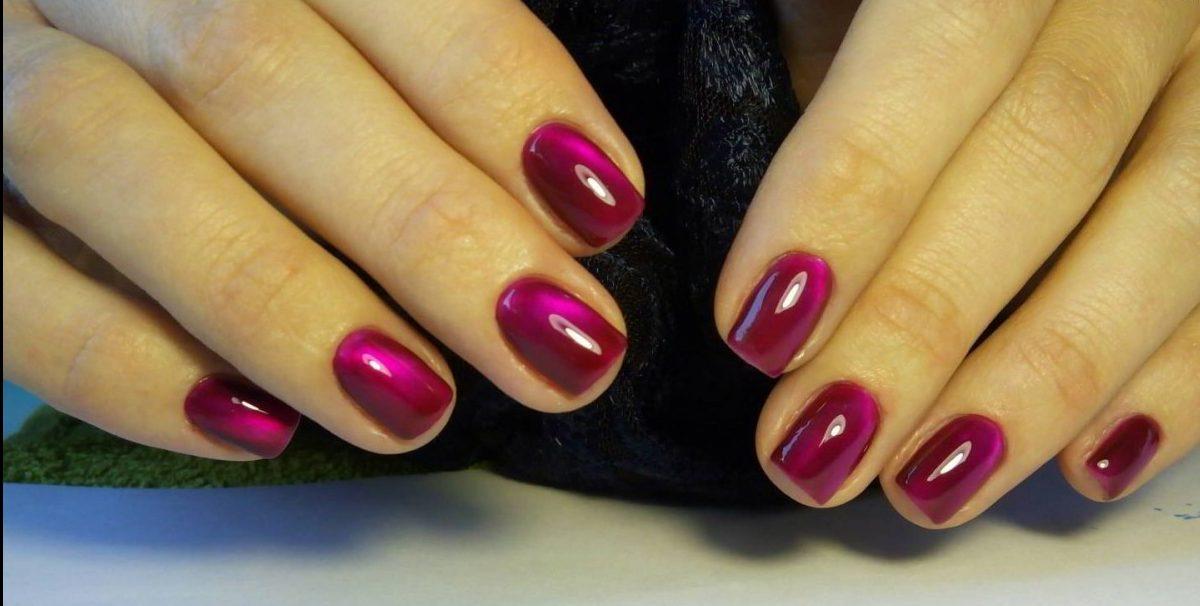 гель лак фото ногтей мода 2017 красный