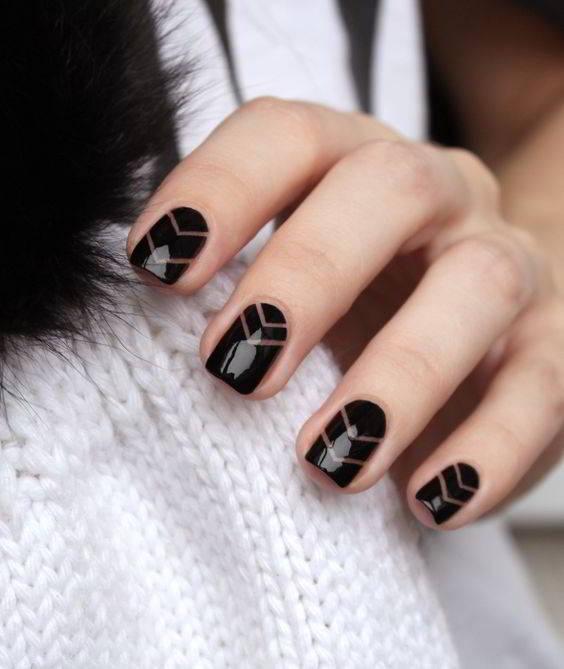 Дизайн ногтей гель лаком 2017