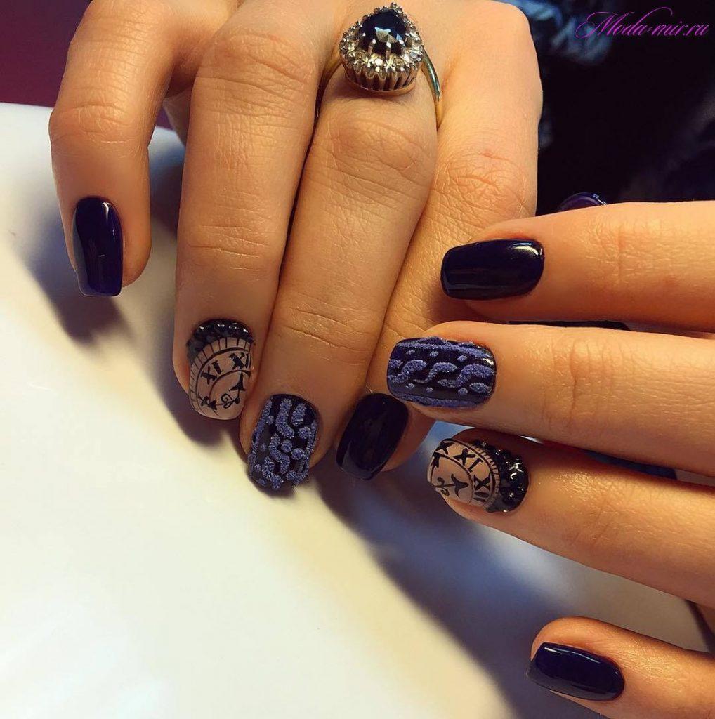 Маникюр в коричневых тонах на короткие ногти фото дизайн