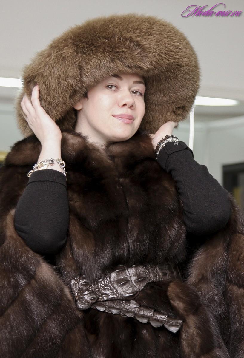 Какие шапки носят с шубой фото