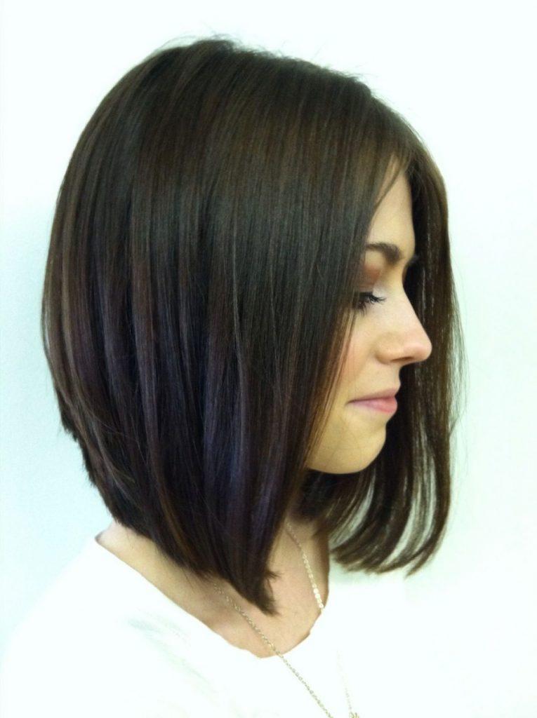 Стрижка каре боб на средние волосы