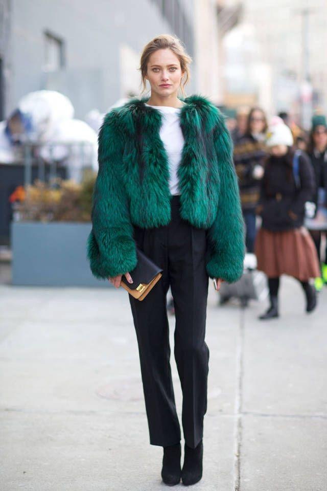 Модный лук зима 2016 2017