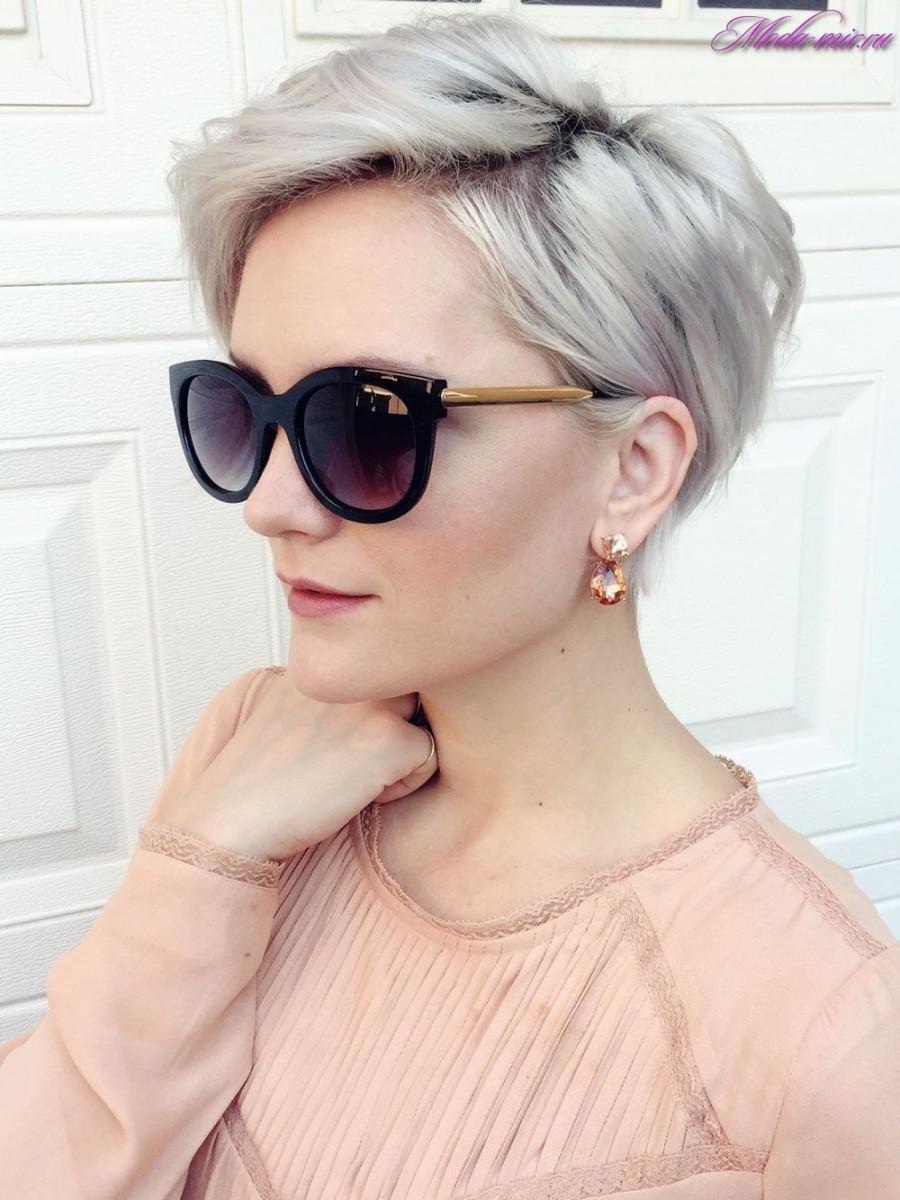 Модные прически 2017 женские на короткие волосы фото