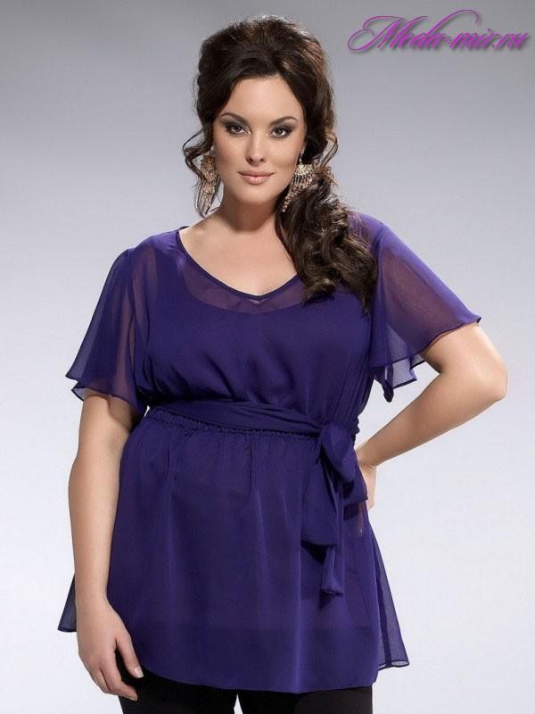 Летняя Блузка Из Шифона Для Полных Женщин После 40 Лет
