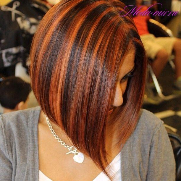 Окрашивание волос 2017 фото новинки на средние волосы