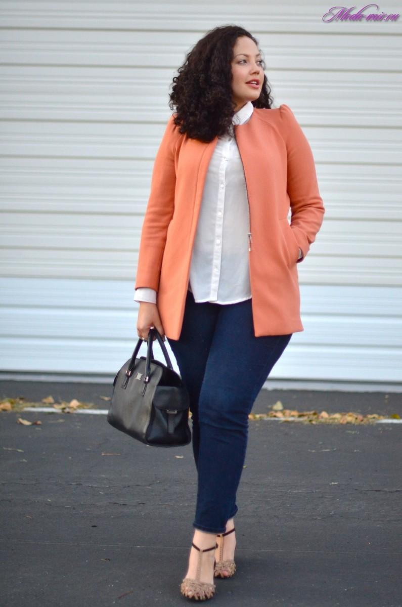 Мода 2017 года фото в женской одежде весна лето для полных женщин фото