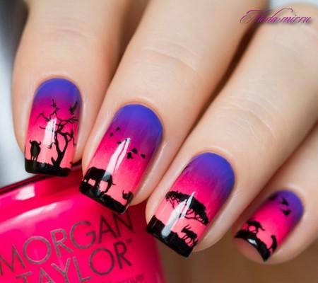 Ногти дизайн новинки 2017 фото лето яркие цвета