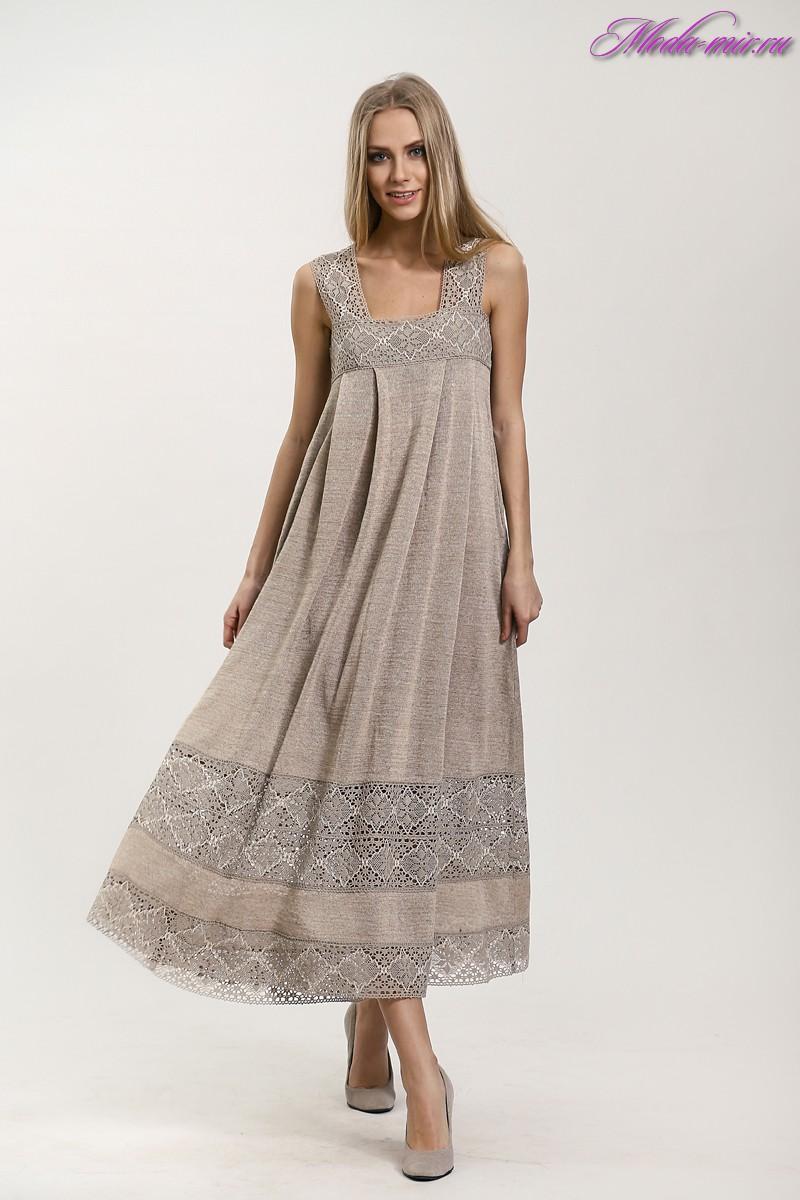 Сшить платье и сарафан из льна 123