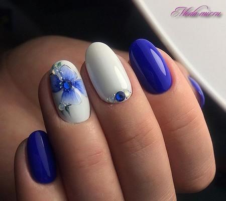 Модный дизайн ногтей 2018