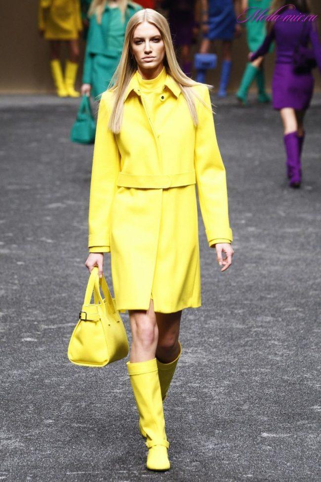 Модные цвета одежда 2018