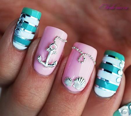 Дизайн ногтей на отдых