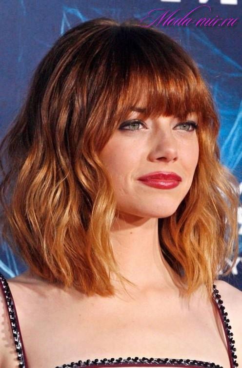 Покраска волос 2018 фото