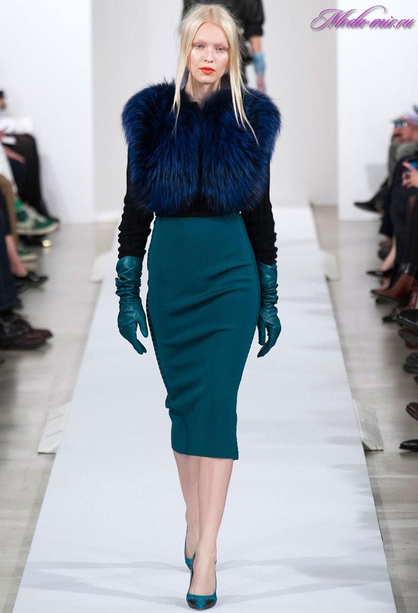 Модные юбки осень-зима 2017 фото женские