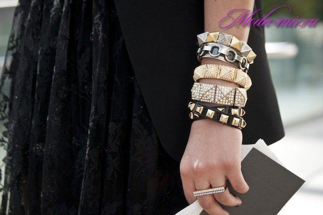 Модные браслеты 2018 фото