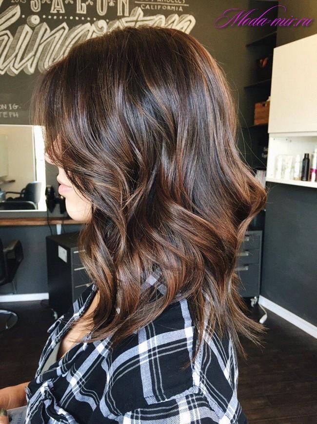 Окрашивание волос лето 2017 фото