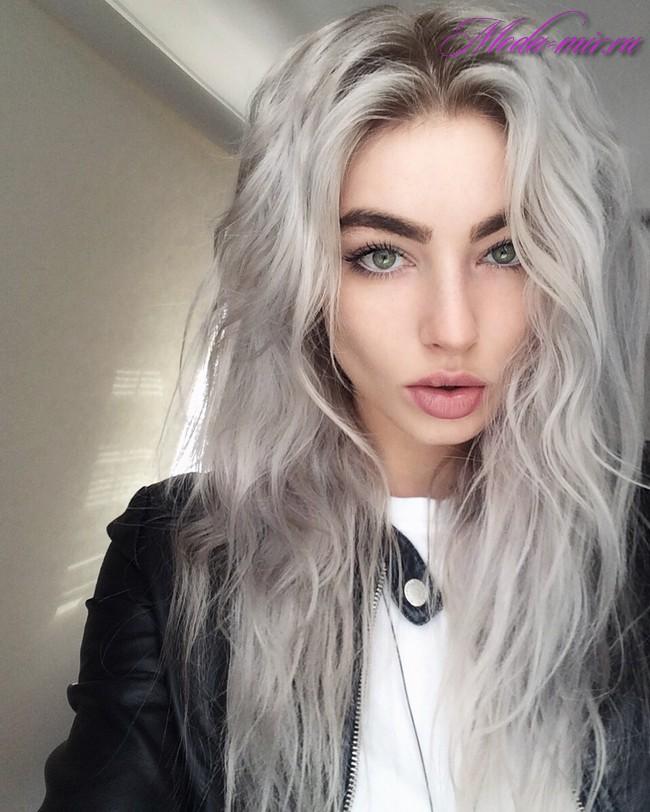 Окрашивание волос осень 2017 фото