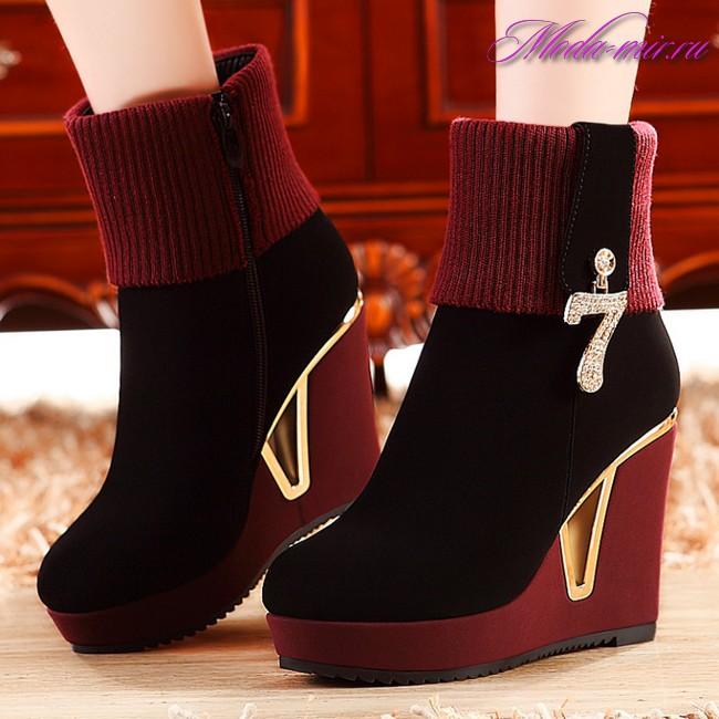 Обувь осень зима 2017 2018