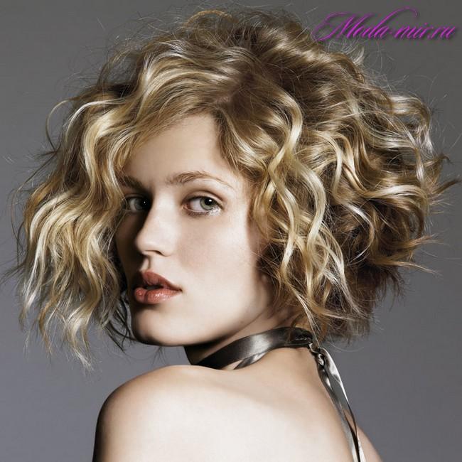 Укладка волос 2018 фото