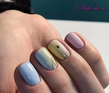 Маникюр 2017 модные тенденции фото шеллак на короткие ногти фото
