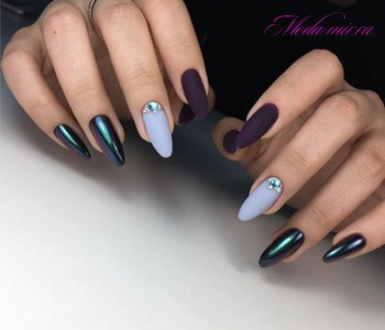 Маникюр 2018 на длинные ногти фото