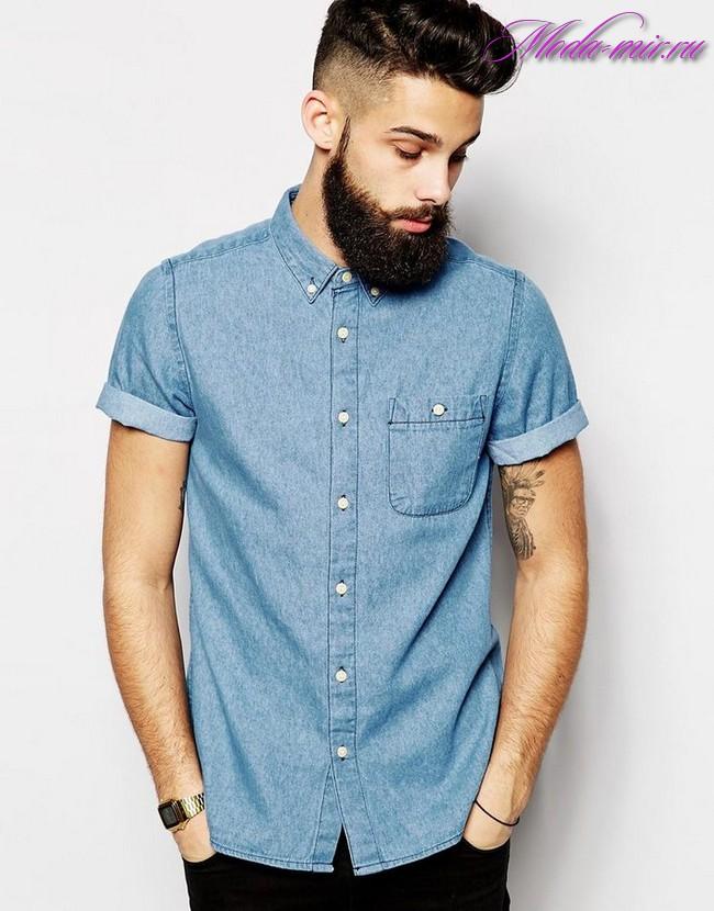 Модные рубашки для мужчин 2017