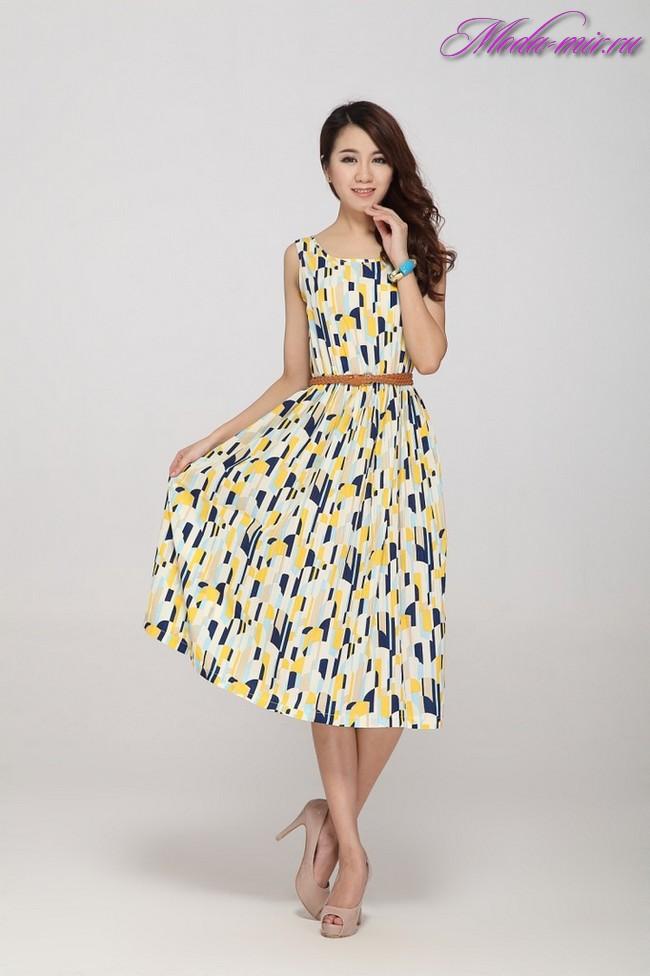 Модные платья 2018 фото