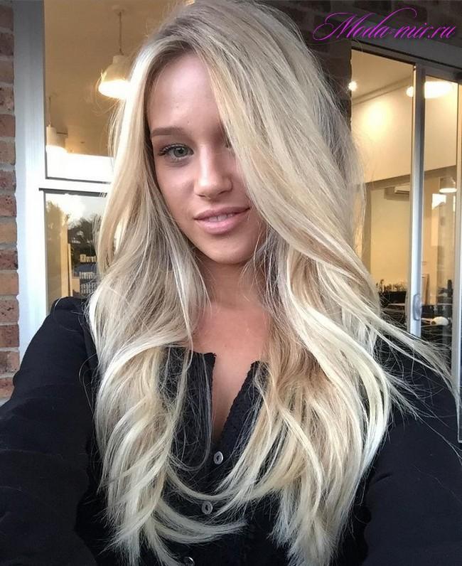 Стильное окрашивание волос 2017