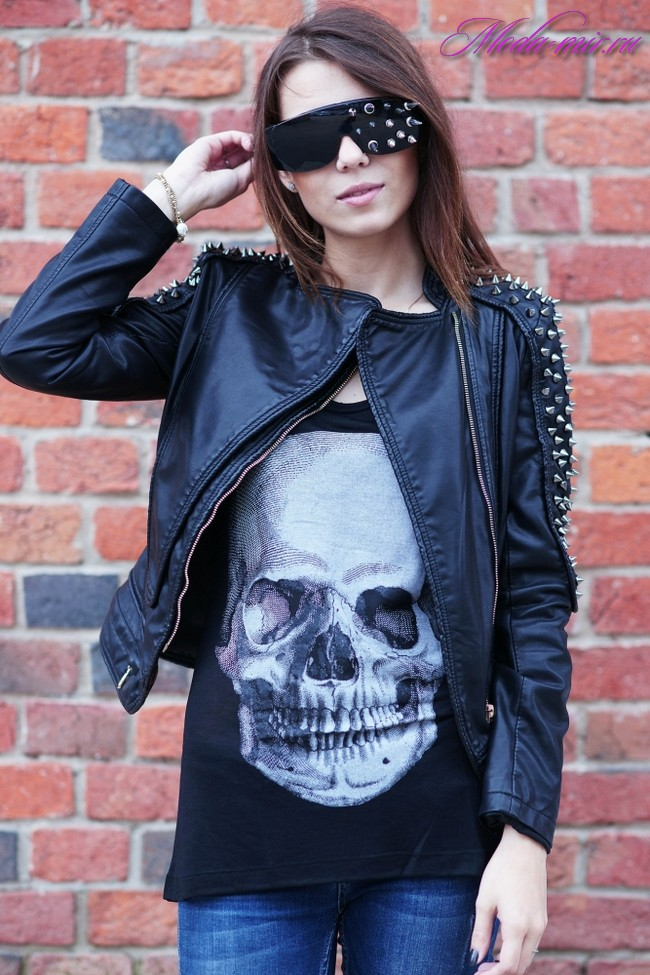 Кожаные куртки 2017 женские фото