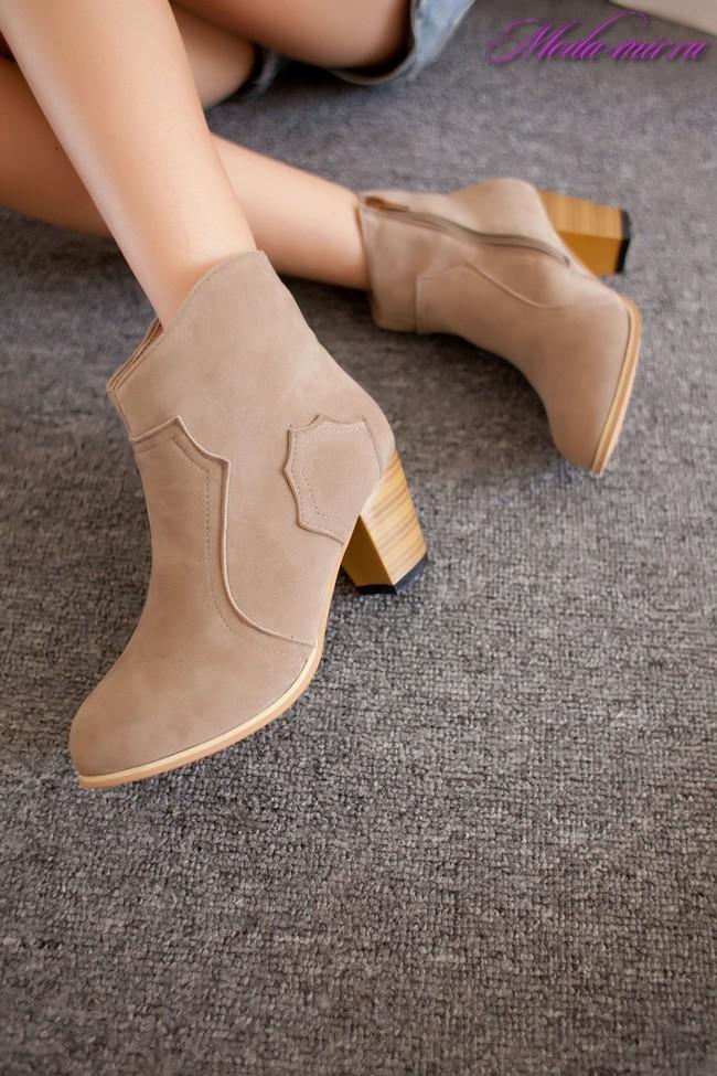 Осенняя обувь 2017 женская
