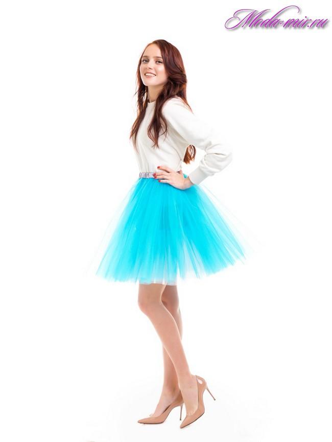 Пышные юбки 2017 фото новинки