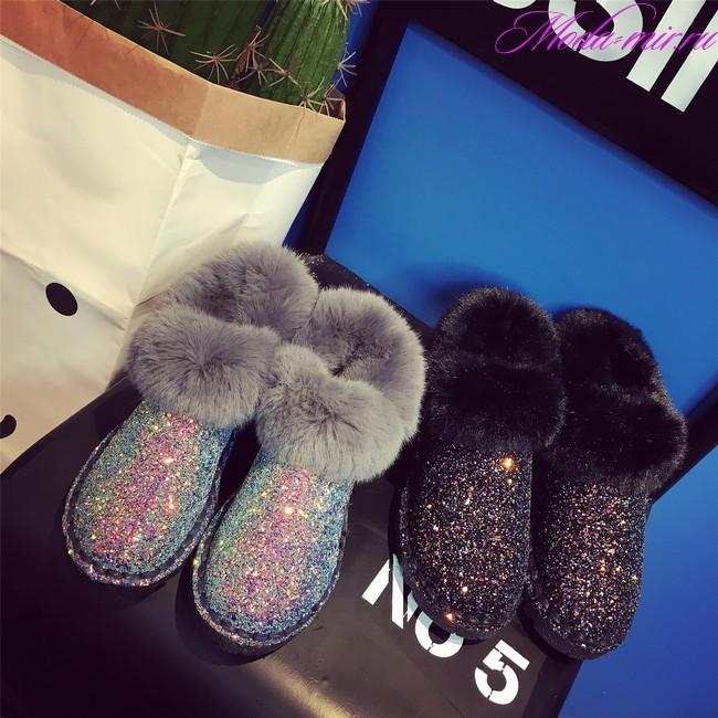 Модная зимняя обувь 2017 2018