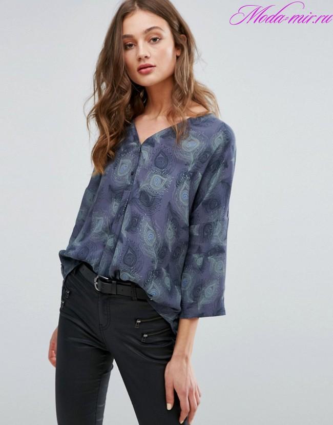 Модные блузки 2018 женские фото