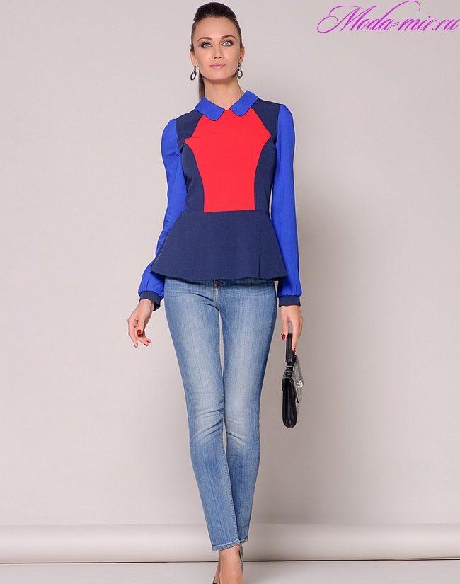 Модные женские блузки