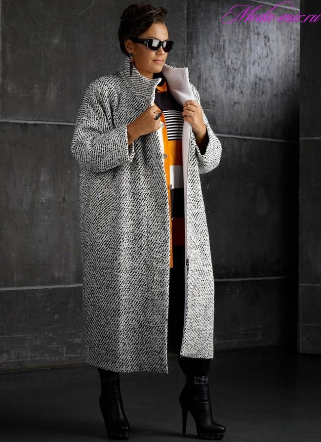 Modnyie obrazyi s palto dlya polnyih 2018(5)